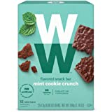 WW Mint Cookie Crunch Mini Bar - Snack Bar, 2 SmartPoints - 1 Box (12 Count Total) - Weight Watchers Reimagined
