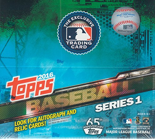 (2016 Topps Series One MLB Baseball Series Factory Sealed Retail Box of 24 Packs)