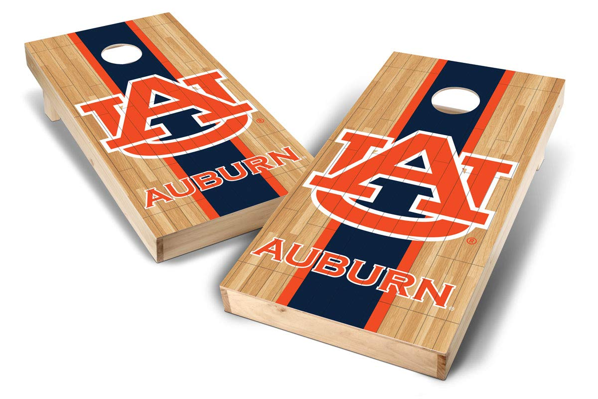 PROLINE NCAA College 2' x 4' Auburn Tigers Cornhole Board Set - Court