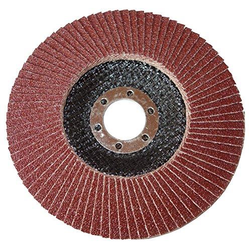 150mm INOX VA F/ächerscheiben Schleifscheiben /Ø 150x22,2mm K/örnung 60