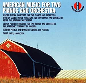American Music for Two Pianos and Orchestra