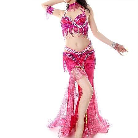 Yuqianqian Mujer Vestido de Danza Latino Vestido de Danza del ...