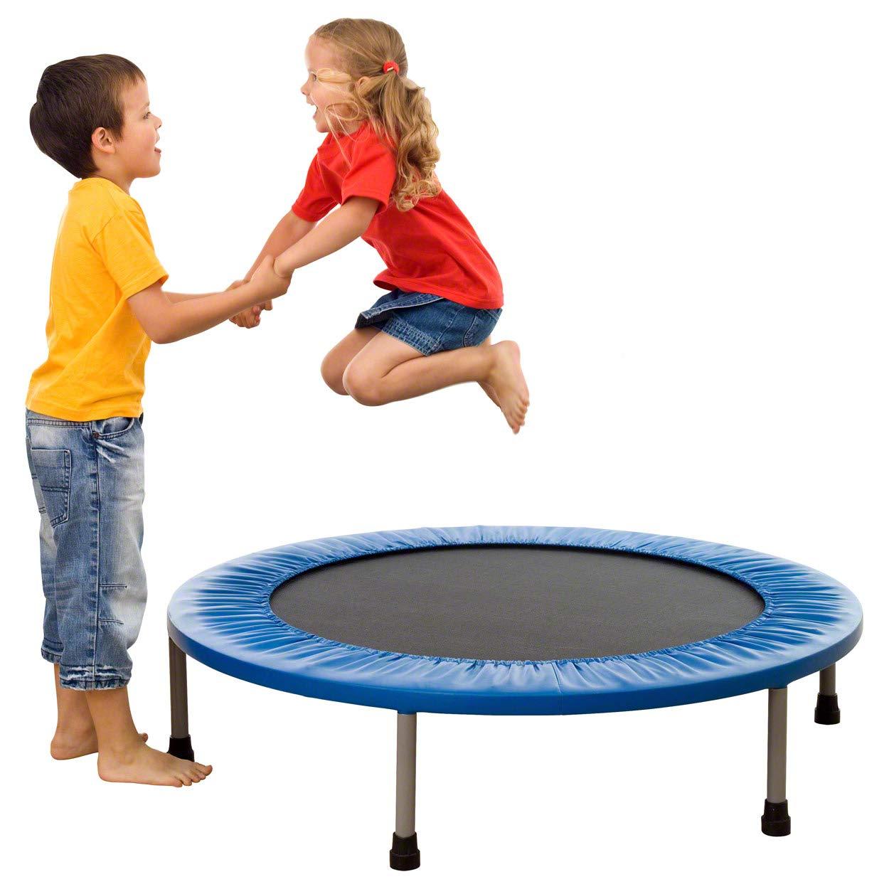 Sport-Tec Trampolin, Fitness Trampolin, Indoor Trampolin, Kinder Trampolin, Mini ø 125 cm