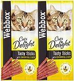Webbox Delight Chicken Cat Treat 30 g (Pack of 25)