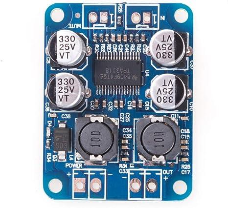 DC 8~24V TPA3118 PBTL 60W Mono Digital Audio Power Amplifier Board Amp Module
