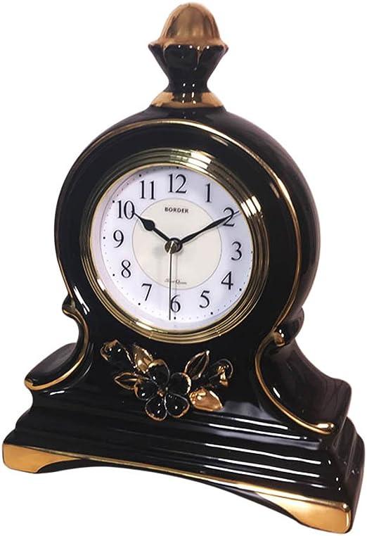 SESO UK- Reloj de Mesa de cerámica Europeo Relojes de Escritorio ...