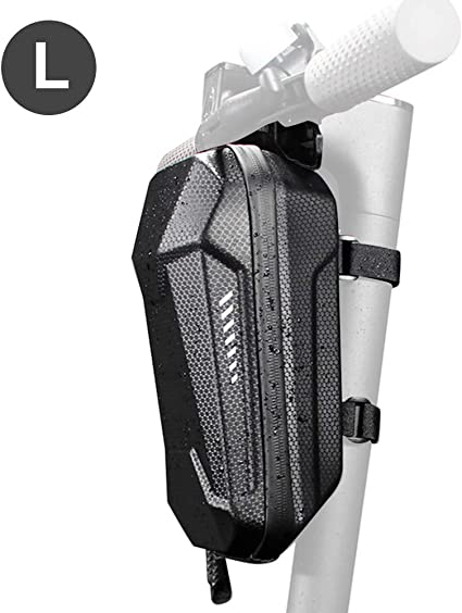 Epessa Scooter Storage Bag,Scooter Handlebar Bag,Front Hanging Bag for Xiaomi Mijia M365//M365 Pro//Segway ES1//ES2//ES3 Fit for Carrying Charger Tools Repair Tools|Large Capacity|EVA Material