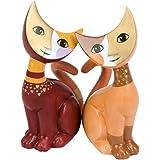 """'Goebel 31871015""""Grande Amore Figurine bûche, Porcelaine, multicolore, 13x 11x 16,5cm"""