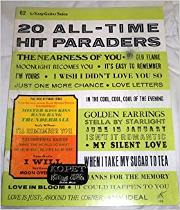 20 All-Time Hit Paraders - F. Easy To Play Piano or Organ #69 Sinatra Beatles