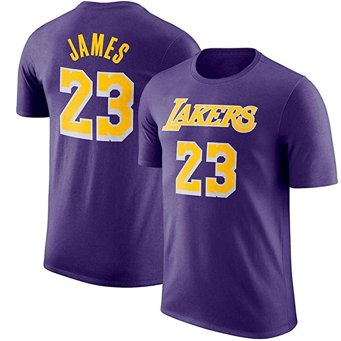 Camiseta Deportiva NBA Lakers City Edition Traje de Entrenamiento de ...