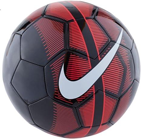 Nike Mercurial Fade – Balón de fútbol (Negro/Rojo) (5): Amazon.es ...