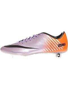 08725bb08 Nike MERCURIAL VAPOR IX FG Men s Soccer Cleats (Metallic Purple Total Orange  Urban