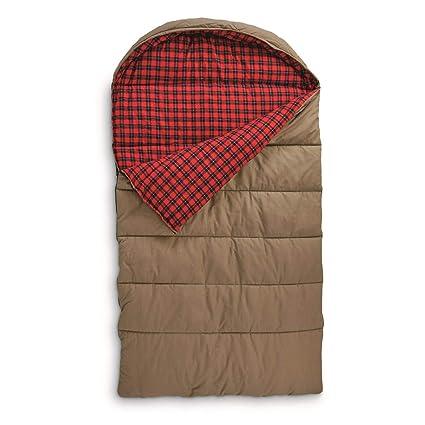 Amazon.com: Guide Gear lona Hunter saco de dormir doble 0 °F ...