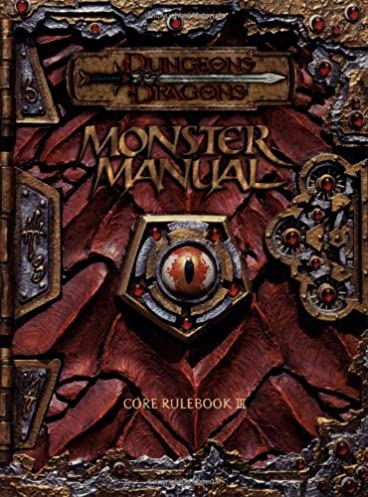 monster manual core rulebook iii dungeons dragons monte cook rh amazon com Monster Manual PDF Monster Manual Pokemon