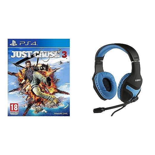 Just Cause 3 + Konix: Auriculares De Gaming (PS4)