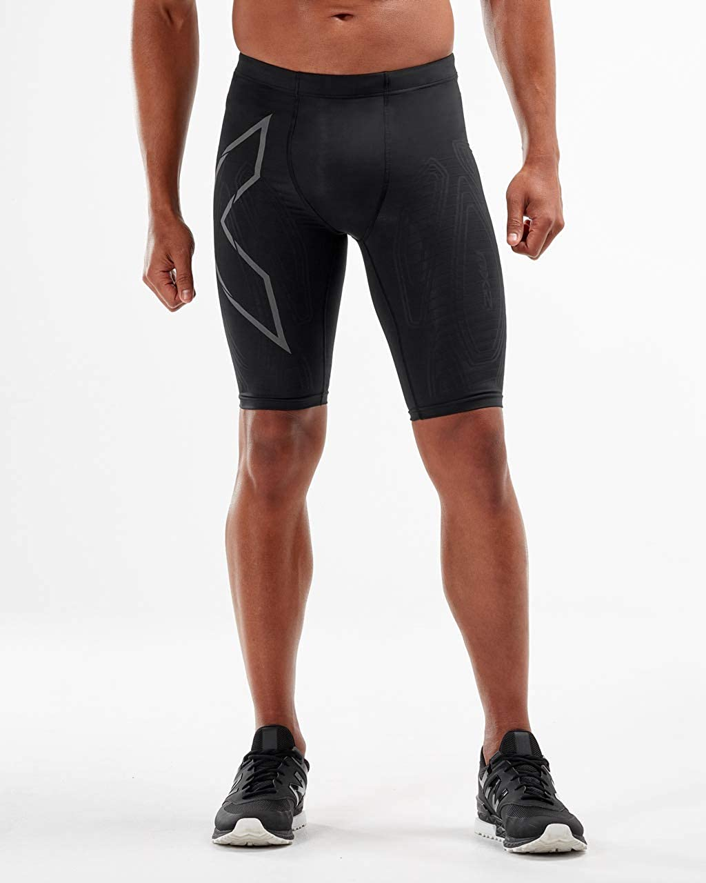 2XU Mens MCS Run Compression Short