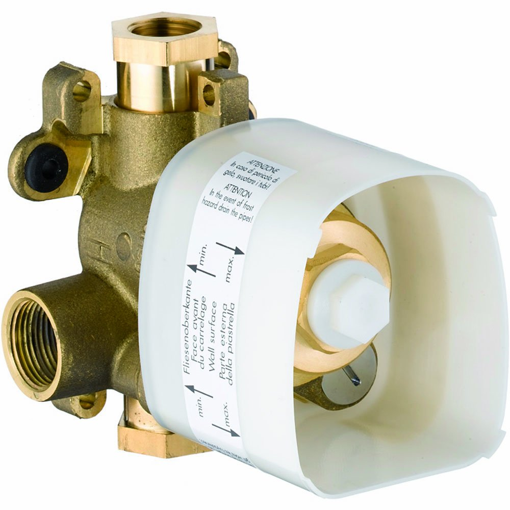 Hansgrohe 10754181 Starck Thermostatic Rough-In Valve Brass