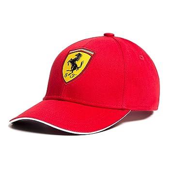 Ferrari 2018 Scuderia Childrens Classic Baseball Cap in Red - Kids One Size 33057b9866