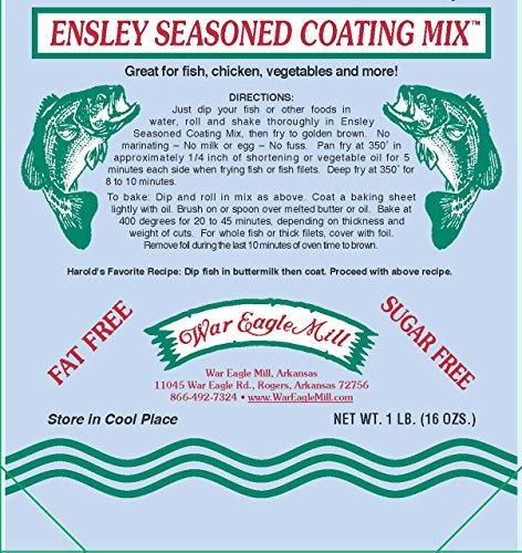 Ensley fish Fry Coating Mix in resealable bag (1 - Fry Coating Mix