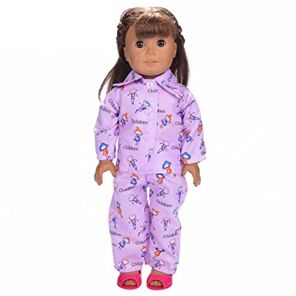 Amazon.com  WensLTD Clearance! Cute Soft Robe Dolls Robe Fit For 18 ... 7ac4ec775