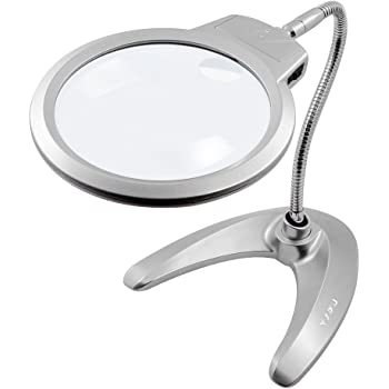 Brightech Lightview Pro Flex Magnifying Lamp 2 In 1