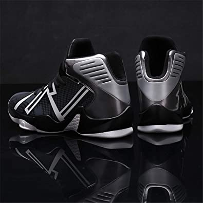 Amazon.com | AiKim Mens Shock Absorption Running Shoes High Top Basketball Shoes Fashion Badminton Shoes Sneakers | Shoes
