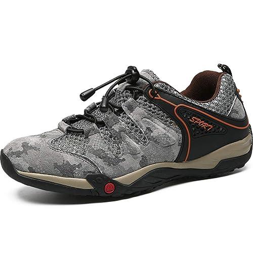 Zapatillas de Trekking para Hombre Zapatillas de montaña Zapatillas de montaña Transpirables para Hombres Zapatos Deportivos de Escalada: Amazon.es: Zapatos ...