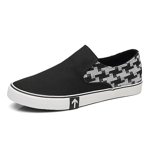 Zapatos de Hombre Lona Mocasines Spring Comfort Comfort Mocasines Lona y Slip Ons de6170