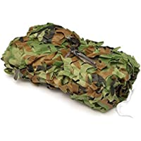 Camo Netting,MEILIIO Woodland Camouflage Net Camping Military Hunting Shooting Sunscreen Nets Hide Woodlands Jungle for Party Decoration Themed Restaurant Decor Sunshade etc