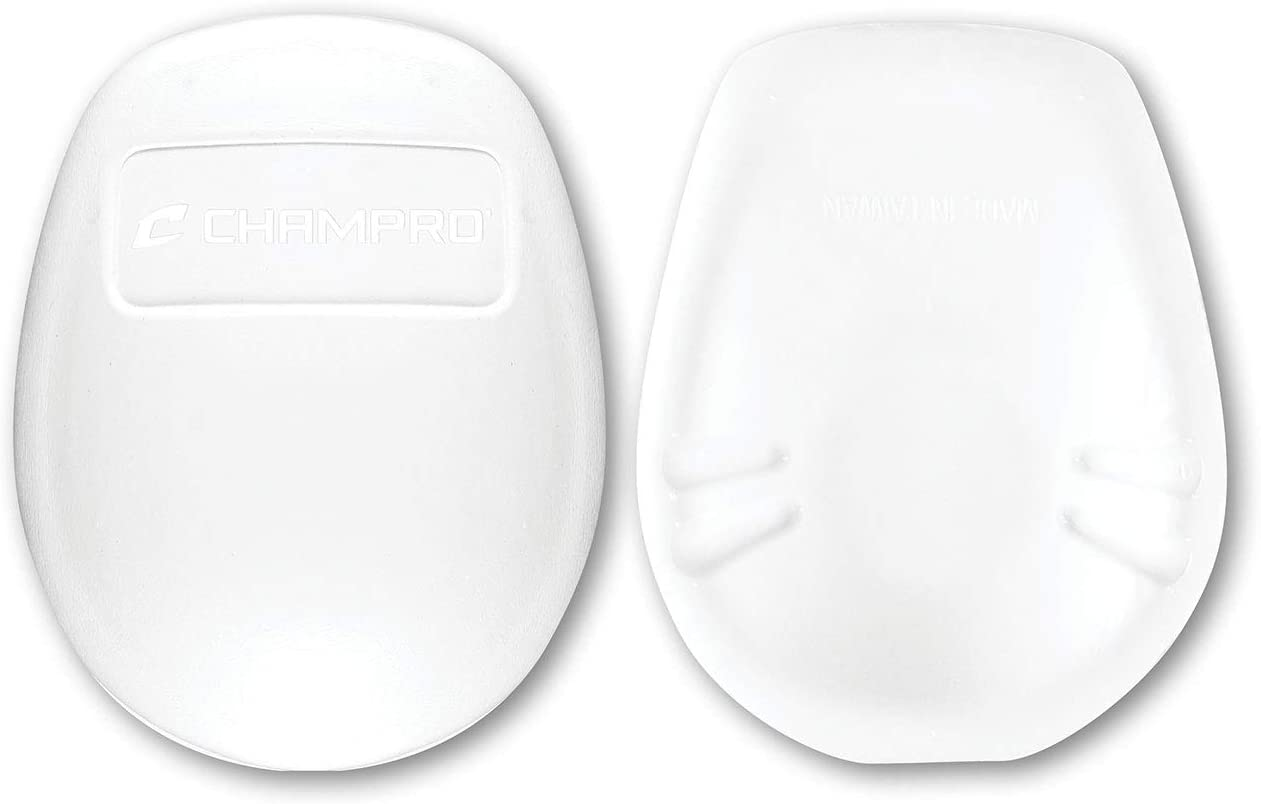 Champro Varsity Ultra Light Knee Pad (White, Adult) : Football Thigh And Knee Pads : Sports & Outdoors