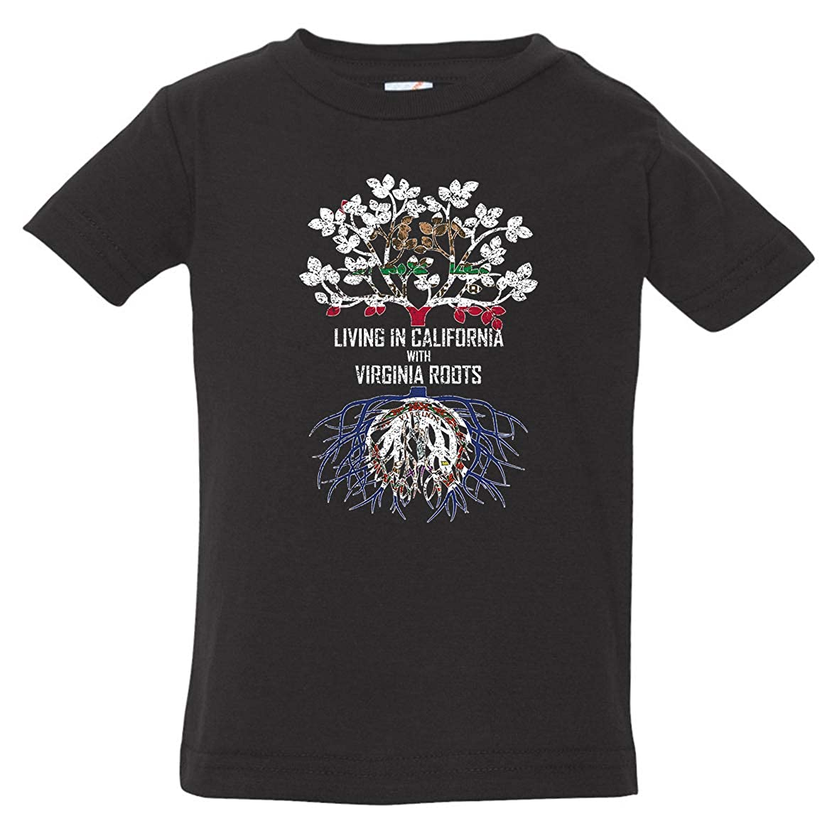 Tenacitee Babys Living in California Virginia Roots Shirt