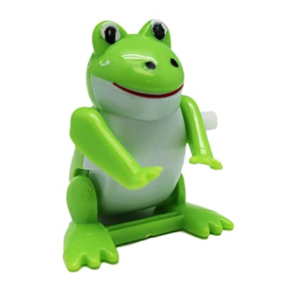 Windup Crazy Flipping Frog Toy - By Ganz: Toys & Games