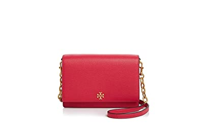6ce2f8afe91 Image Unavailable. Image not available for. Color  Tory Burch Georgia  Pebbled Leather Combo Crossbody Bag ...