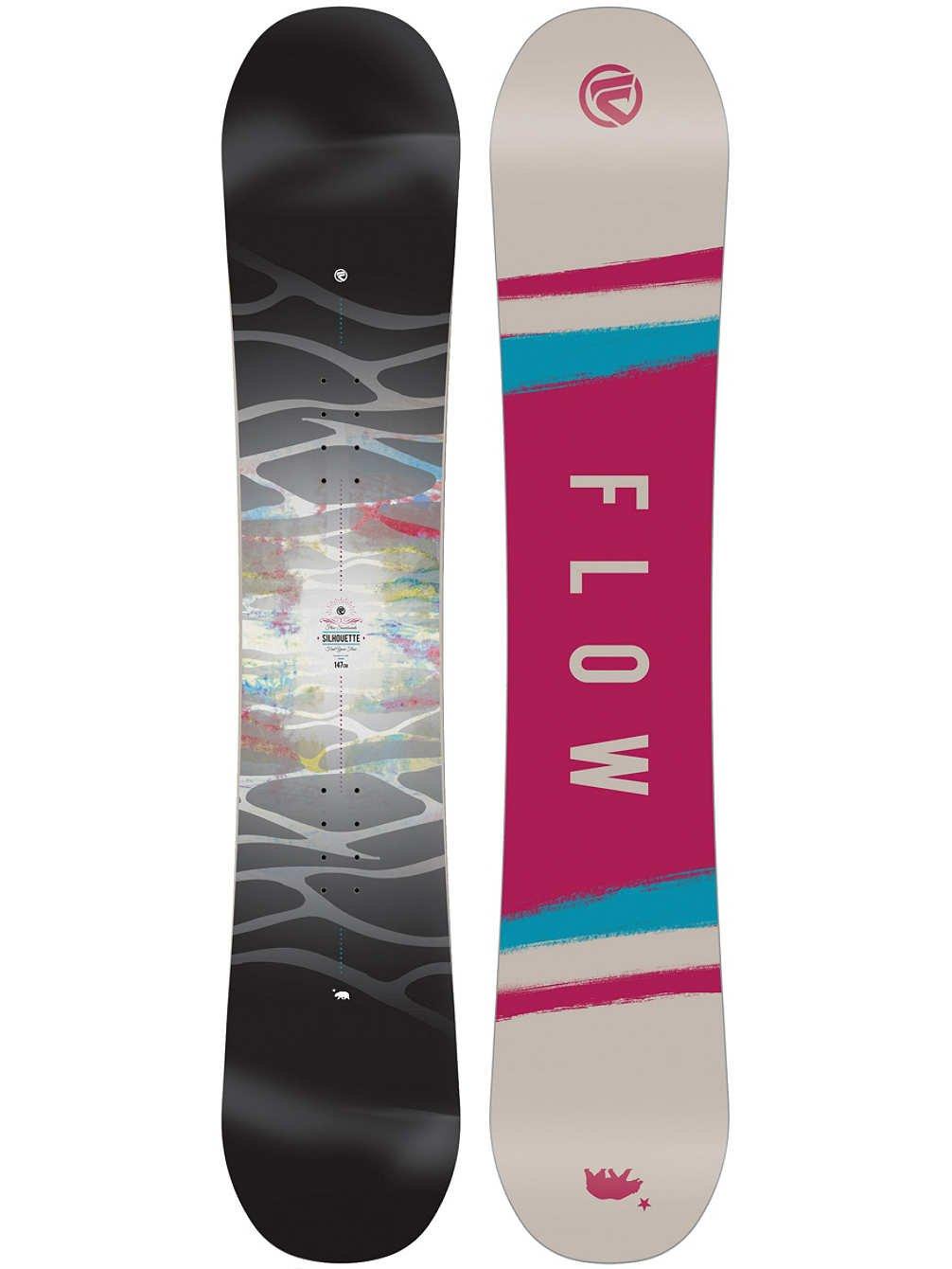 フローレディースシルエットSTDスノーボード2018 140
