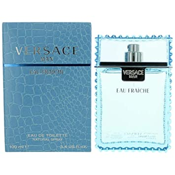 347cca0b Versace Man By Versace Eau Fraiche Eau De Toilette Spray (Blue) 3.4 Oz Men