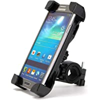 TERSELY Bike Bicycle Motorcycle MTB Phone Mount Holder, Handlebar Cradle Clamp with 360°Rotation Bike Holder for iPhone…
