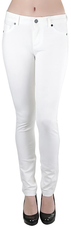 OffWhite ToBeInStyle Women's 5Pocket Skinny Fit Ponte Pants