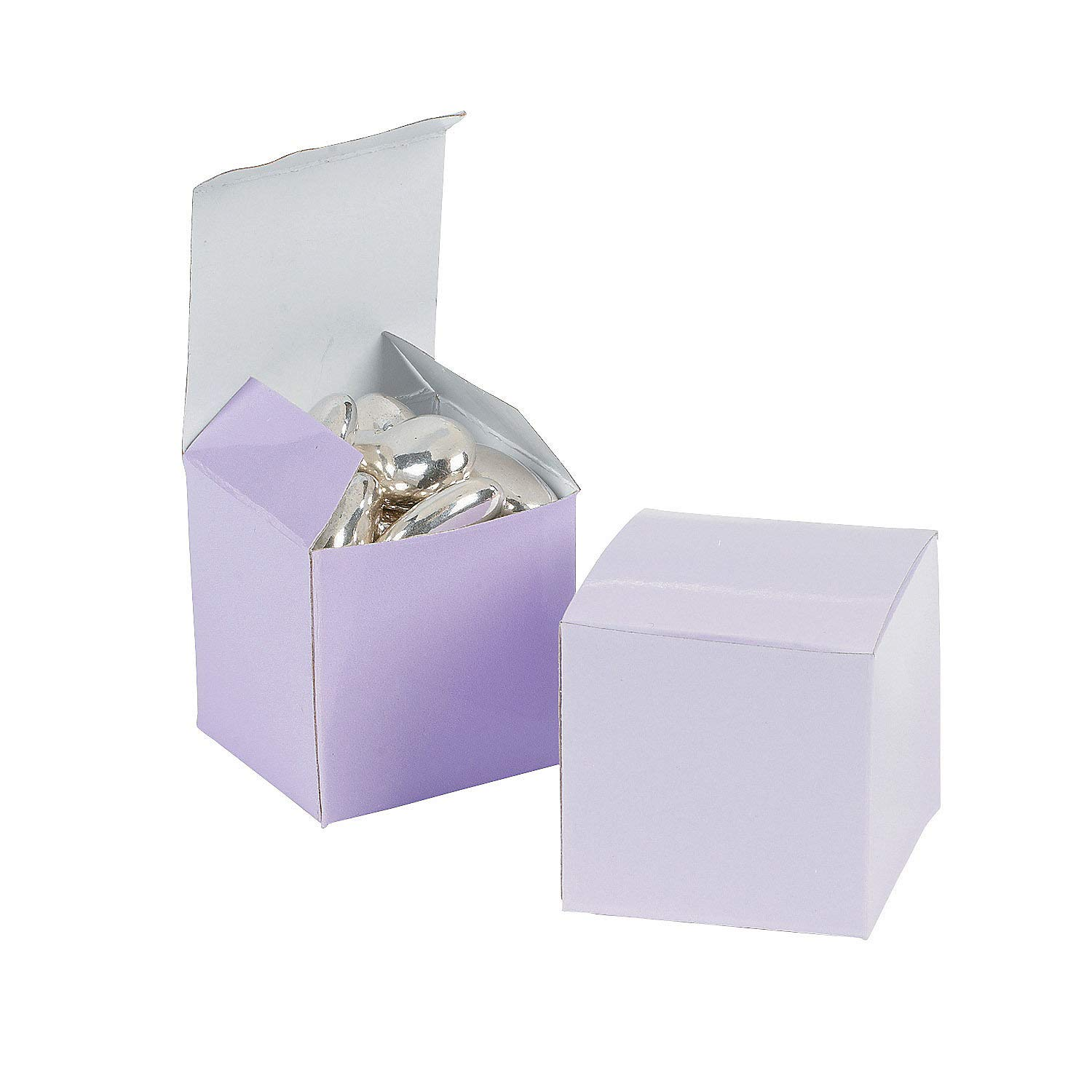 Wedding Containers /& Boxes 24pc Paper Boxes 2 Lilac Gift Boxes for Wedding Fun Express Party Supplies 24 Pieces