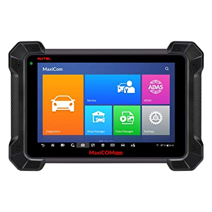 Autel MaxiCOM MK908P OBD2 Diagnostic Scanner (Upgraded Version of MaxiSys  Pro MS908P) with WiFi Bluetooth Jbox J2534 VCI BCM PCM ECU Reprogramming &