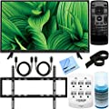 Vizio D43n-E1 D-Series 43-Inch Full-Array LED TV Ultimate Wall Mount Bundle