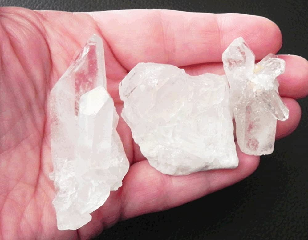 Azeztulite ONE Very Small Cluster from North Caroline with Certificate /& Pouch