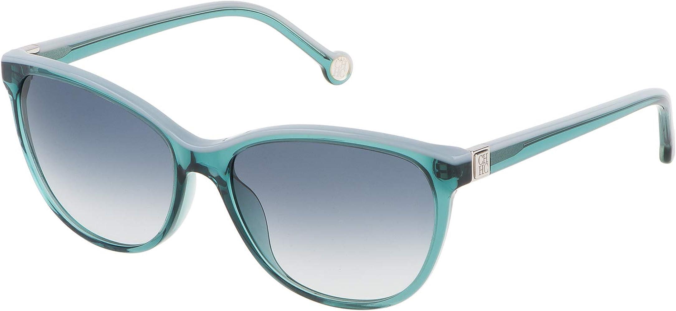 Carolina Herrera SHE653550874 Gafas de sol, Verde, 55 para Mujer: Amazon.es: Ropa y accesorios