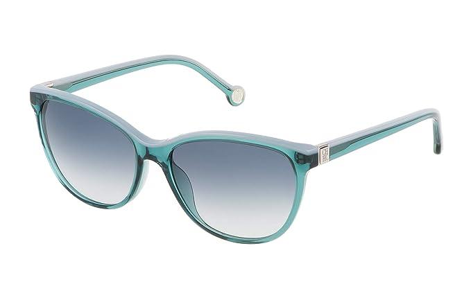Carolina Herrera SHE653550874 Gafas de sol, Verde, 55 para ...