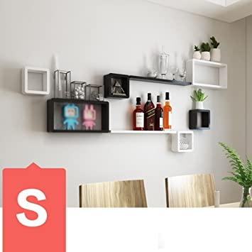 DIDIDD Wand Regal Tv Wand Dekorationen Wohnzimmer Esszimmer Wand