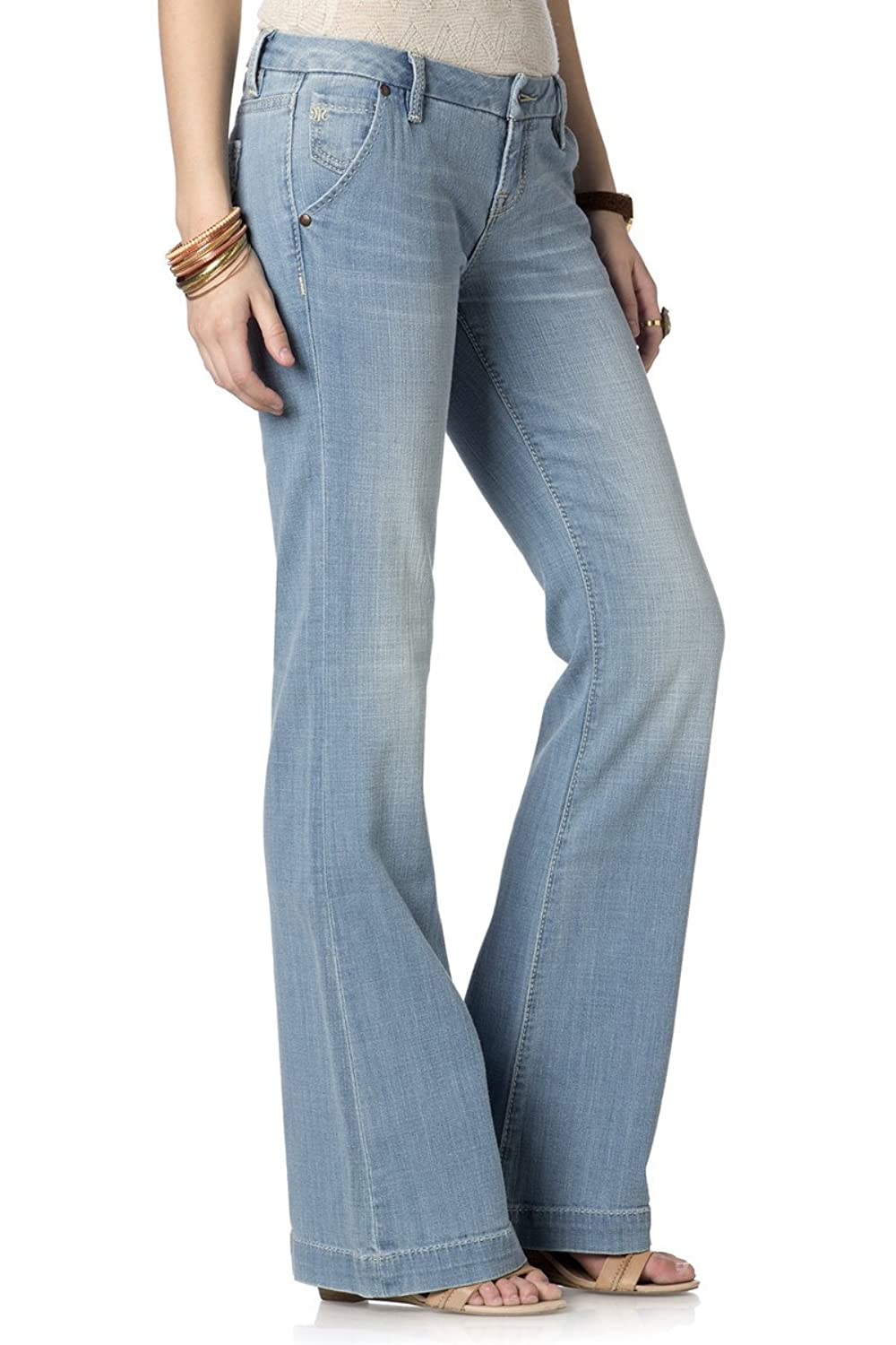 Women s Miss Me Light Wash 109 Wide Leg Jeans