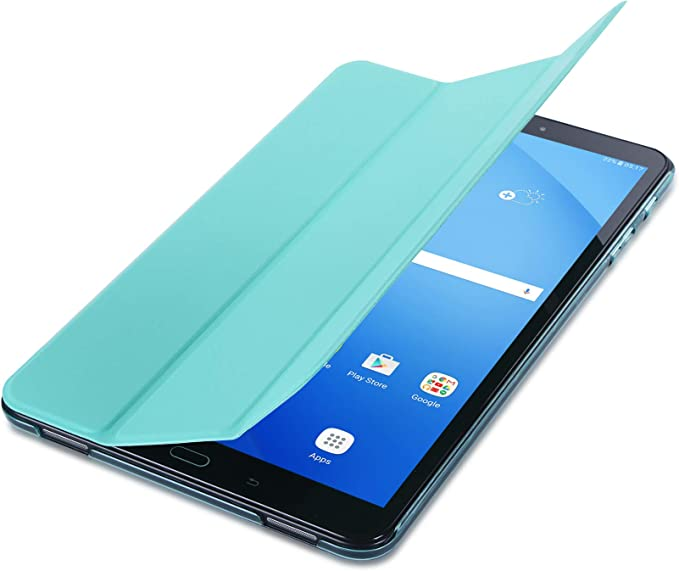 ISIN Premium PU Funda Case Cover Carcasa para Samsung Galaxy Tab A 10,1 SM-T580 T585 No para Tab A 10,1 S-Pen Versi/ón SM-P580 SM-P585 Verde