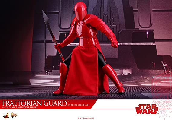 Hot Toys HT903183 1: 6 Praetorian Guard with Double Blade, Red