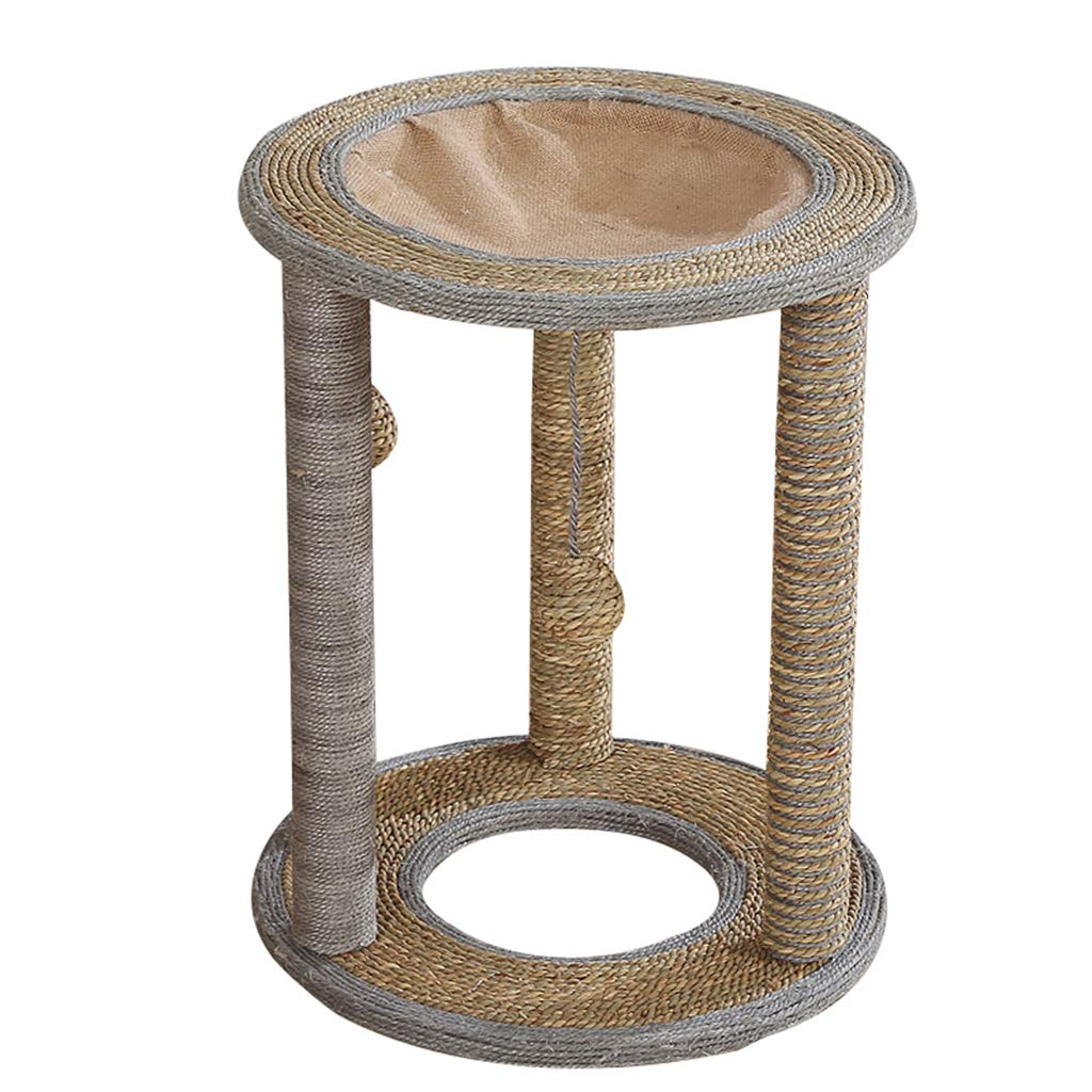 Cat Tree with Sisal-Covered Scratcher,Sisal Perches and Condo, Activity Centre Cat Tower Furniture,for Kittens and Pets