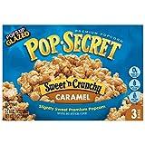 microwave caramel corn - Pop Secret Sweet 'n Crunchy Caramel Popcorn, 3 Count (Pack of 12)