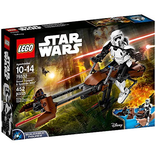 (LEGO Star Wars Scout Trooper & Speeder Bike 75532 Building Kit )
